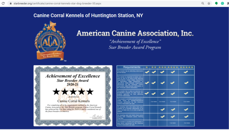 canine, corral, kennels, good, breeder, star, kennel, canine-corral, k9, huntington, station, ny, new, york, huntington-station, customer, pet, store, petstore, complaints, puppy, mill, puppymill, inspections, reports, news, article, dog, cat, pets, for sale, long, island, longisland