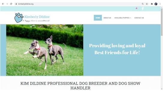 Kim Dildine Professional Dog Breeder Official Web Site